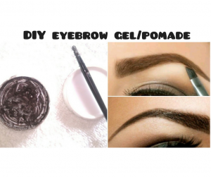 DIY EYEBROW GEL FOR FULLER EYEBROWS