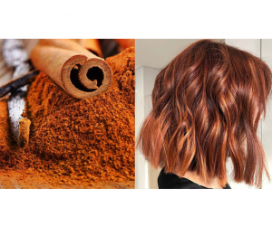 DIY CINNAMON HAIR DYE FOR GETTING REDDISH BROWN HAIR