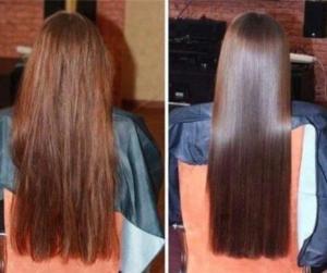 DIY HAIR CARE MASK FOR SHINY HAIR