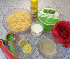 DIY POTATO MILK SOAP FOR SKIN WHITENING