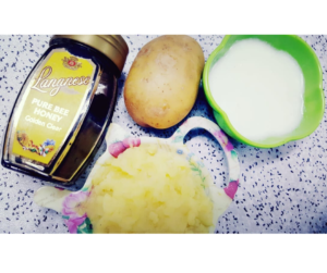 POTATO MASK FOR FACE WHITENING